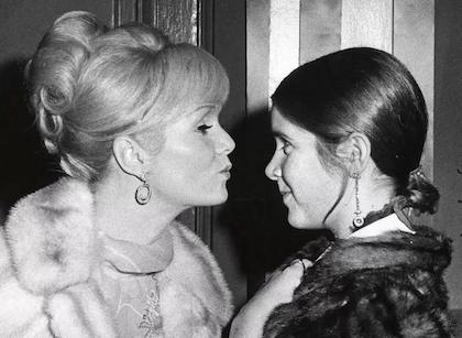 Broadway to Dim Lights In Memory of Carrie Fisher & Debbie Reynolds